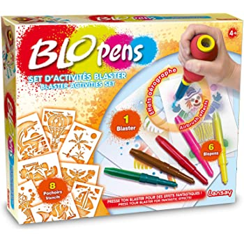 23600 Lansay Crayons de Couleur My First Blopens Autour du Zoo