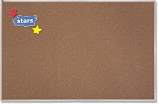 Quartet 4 x 10 Feet Premium Color Cork Bulletin Board (PCKA410)