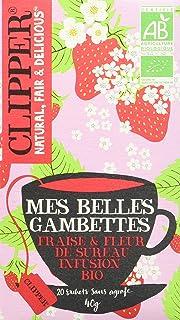 Clipper Infusion Bio Mes Belles Gambettes, 1x20 sachets