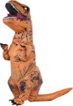 Rubie's Costume Jurassic World Child's T-Rex Inflatable Costume with Sound, Multicolor