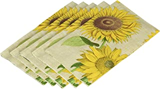 Entertaining with Caspari Under the Sun Paper Guest Towels (15 Pack), Yellow
