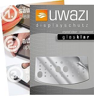uwazi I 5X glas-heldere beschermfolie voor DeLonghi Magnifica S ECAM 22.110 + 21.117 + 21.116 displaybeschermfolie I anti-...
