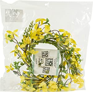 Foundations Décor, Spring Wreath, Seasonal Decoration for Front Door, Wall Hanging Window, and Wedding Party Decoration
