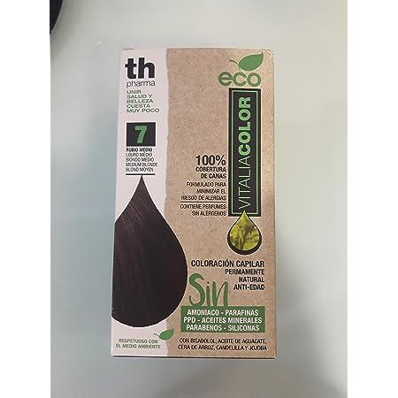 Th Pharma Th Eco Vitalia Color Tinte Nº 7 Rubio Medio 250 g