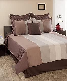 Textrade Citadel 7-Piece Comforter Set, Queen, Multi Color