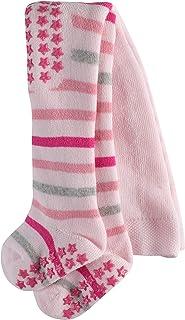 FALKE Strumpfhose Multi Stripe Baumwolle Baby weiß rosa viele weitere Farben Babystrumpfhose dick mit Muster bunt Vollplüschstrumpfhose gestreift mit Ringel 1 Stück