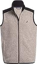 Nautica Boys' Little School Uniform Full-Zip Fleece Vest