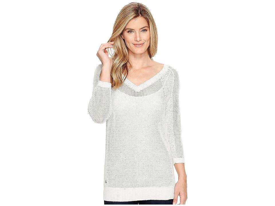 Lole Mable Sweater (White Heather) Women