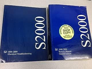 2008 2009 Honda S2000 Service Shop Repair Manual Factory Set W Wiring Diagram