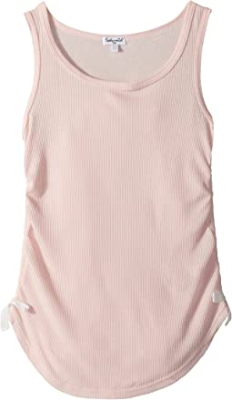 Splendid Littles - Side Tie Rib Tank Top (Big Kids)