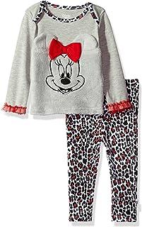 Disney - Conjunto de Pantalones para niña con diseño de Minnie Mouse