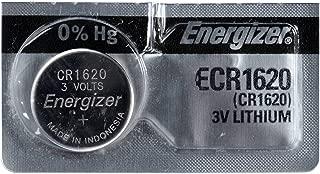 Energizer Batteries ECR1620 3 Volt 3V Lithium CR1620 Coin Battery