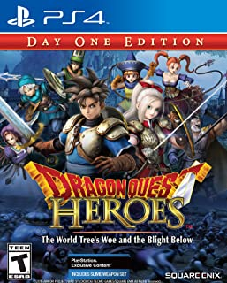 Dragon Quest Heroes: The World Tree's Woe and the Blight Below