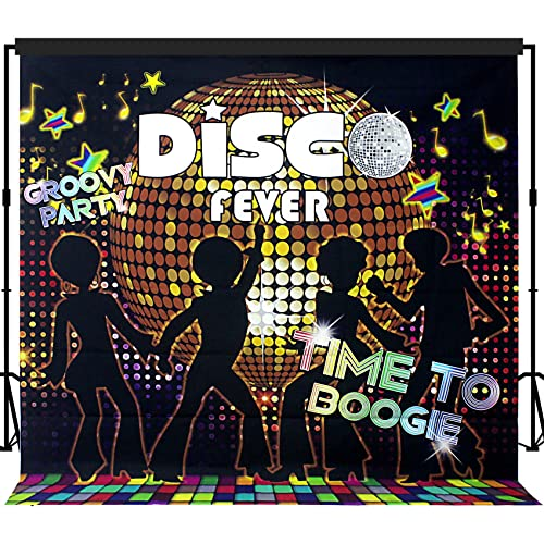 3fc79422b20 Musykrafties Disco Party Backdrop Banner Scene Setters 7x7 ft