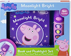 Peppa Pig - Moonlight Bright Sound Book and Flashlight Set - PI Kids (Play-A-Sound)