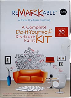 ReMARKable Clear Whiteboard Paint 50 Square Foot Kit