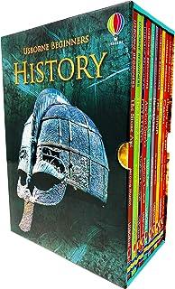 Usborne Beginners History 10 Books Collection Box Set Hardcover by Emily Bone Jerome Martin , Leonie Pratt Stephanie Turnbull