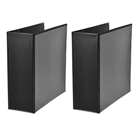 W866-44-519 Customizable Ultra Duty D-Ring View Binder with Extra Durable Hinge Wilson Jones 3 Ring Binder 2 Inch Eggplant