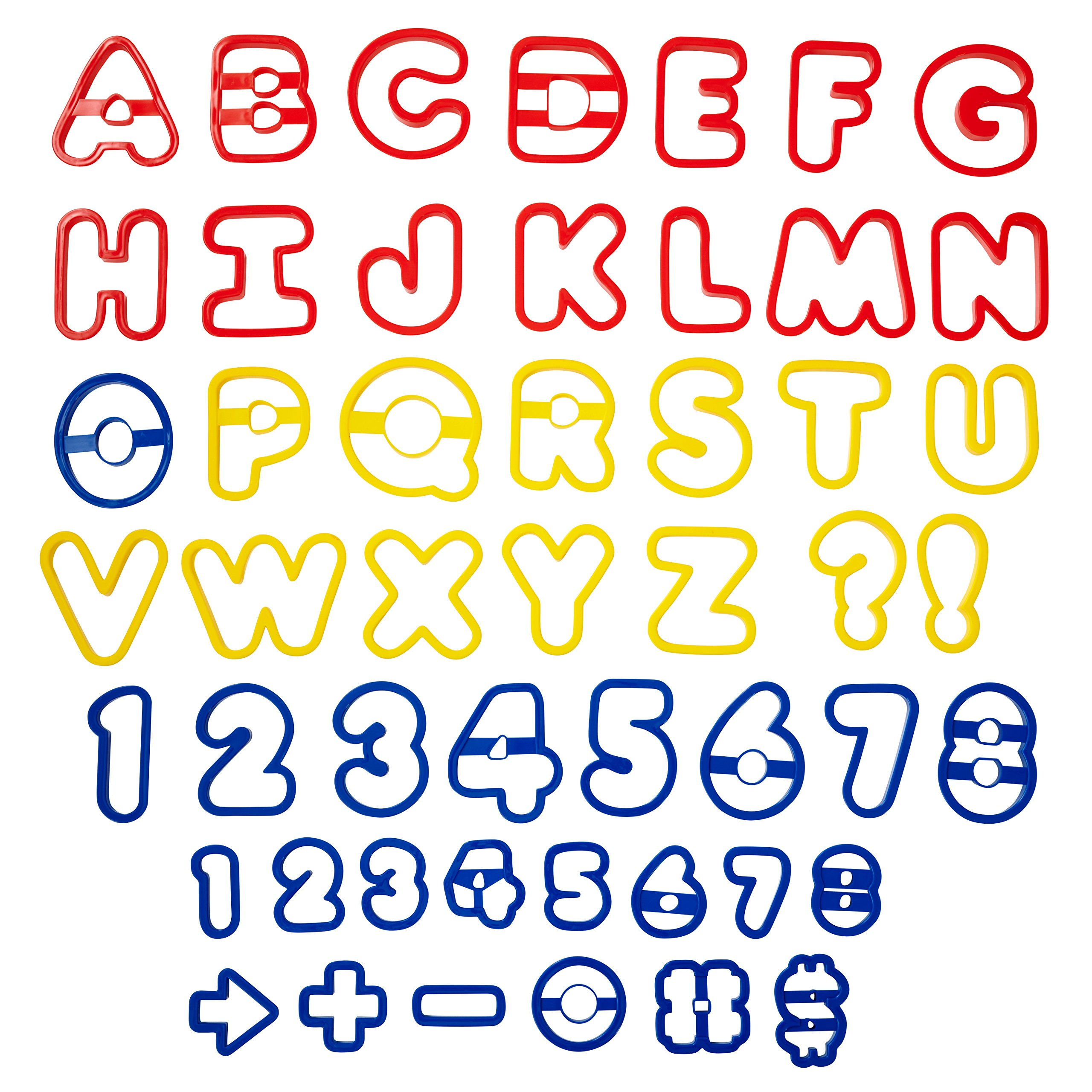 cookie stamp cursive lettering cookie cutter one to ten cookie cutters food safe number set kids birthday or stencil
