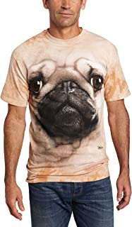 The Mountain Men's Big and Tall Bulldog Face T-Shirt