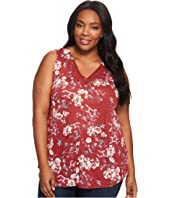 Lucky Brand - Plus Size Wildflower Lace Tank Top