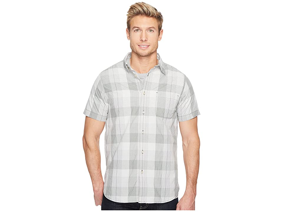The North Face Short Sleeve Expedition Shirt (Thyme Plaid (Prior Season)) Men