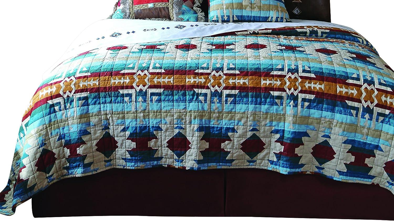 Carstens Southwest Harvest Quilt Bedspread, King