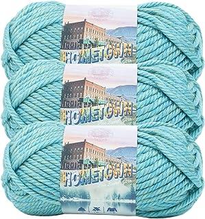 Lion Brand Yarn 135-236-3 Yarn, 3-Pack, Reseda Dojo 3 Pack