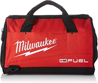 Milwaukee Heavy Duty Contractor (FUEL Tool Bag). Fits 4-5 Fuel Tool --2730-20; 2720-20 Saw 2704-20;2703-20 Drill; 2653-20,2654-20 Impact; other Cordless Tools alike