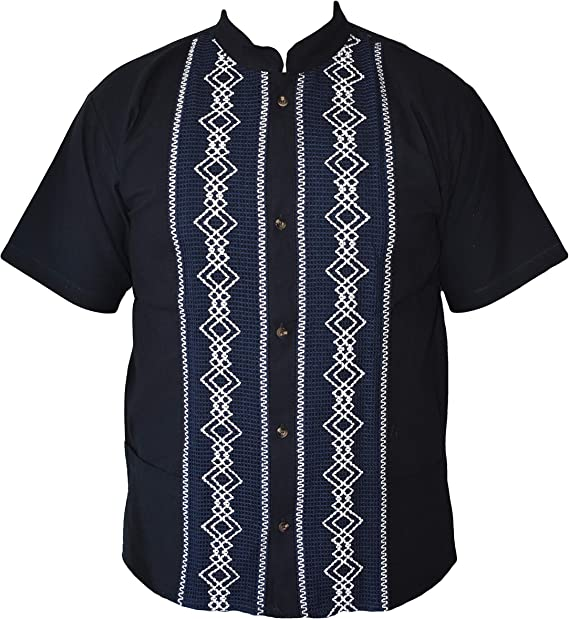 JRStoreMX Camisas mexicanas de Guayabera para Hombres, tamaños, Fabricado en México