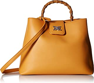 Best leather bag with bamboo handle Reviews