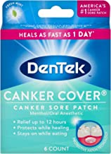 DenTek Canker Cover Patch | Canker Sore Relief up to 12 hours | 6 Count