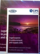 OPTION: Legal Aspects in Procurement and Supply (UK): Optional unit 6