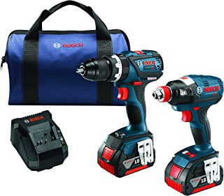 Bosch CLPK251-181 18V 2 Tool Combo Kit with 1/4