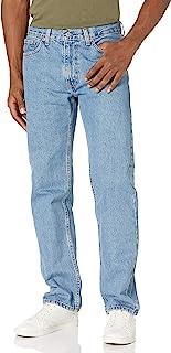 Levi's 505Regular Fit Jeans in Light Stonewash