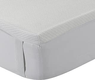 Classic Blanc - Topper/sobrecolchón viscoelástico confort plus, Aloe Vera, firmeza media, altura 5cm. 150x190cm-Cama 150 (Todas las medidas)