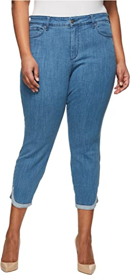 Plus Size Ami Skinny Ankle w/ Dolphin Hem in Bliss