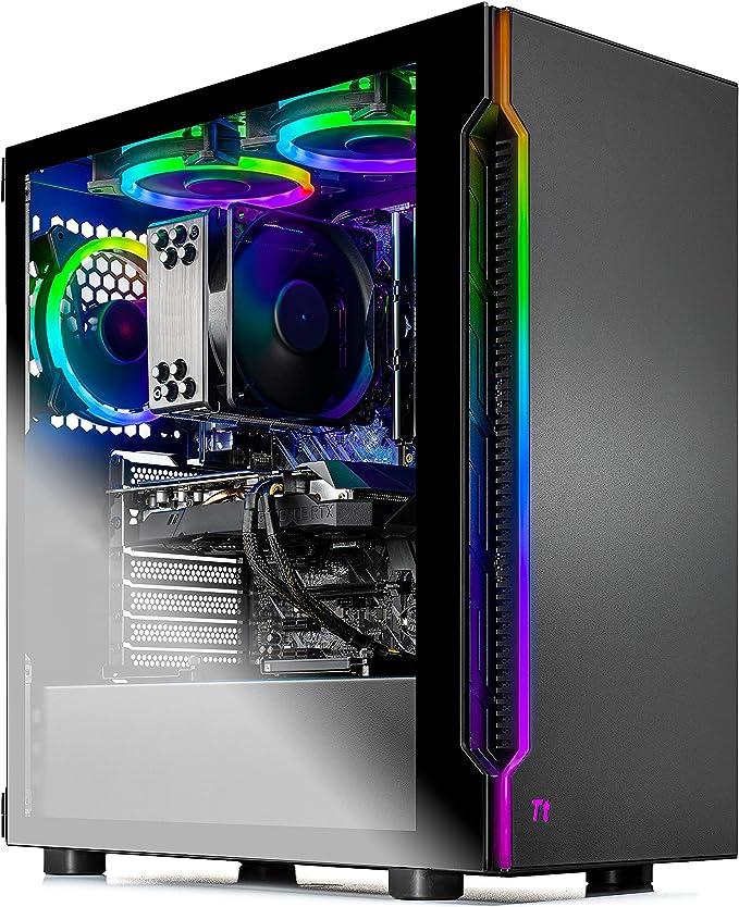 Skytech Shadow 3.0 Gaming PC Desktop - Intel Core-i7 9700KF 3.6GHz, RTX 2060 6GB, 16GB DDR4 3000, 1TB SSD, AC WiFi, Win 10 Home, Black | Amazon
