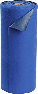 Sorbent Products Company AD30100-BLUE Brady SPC Absorbent Mat, Heavy Weight, 21 gal Absorbency, 0.25