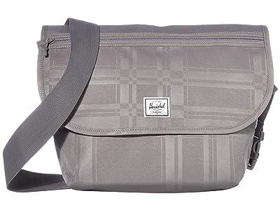Herschel Supply Co. Grade Mid-Volume (Quiet Shade Plaid) Messenger Bags