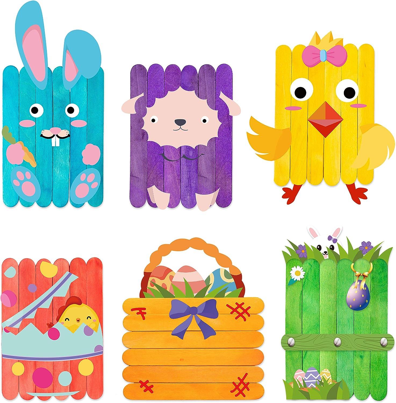 WATINC 6 Pack Nippon regular agency Easter DIY Craft Creative for Supplies Kids Free Shipping Cheap Bargain Gift M kit
