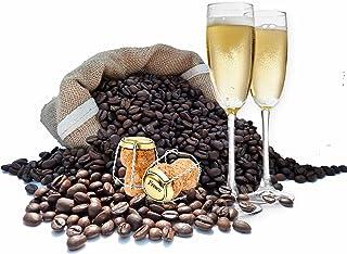 Granos de café con sabor a Prosecco, Cafetiere, 200 g