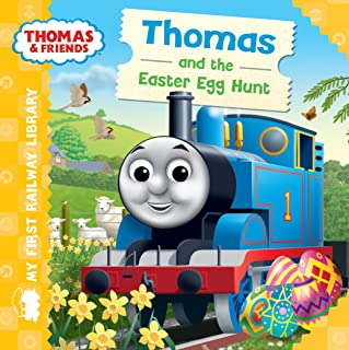 Thomas The Train and Friends Easter Egg Hunt Book for Little Hands