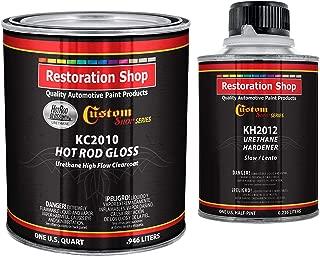 Custom Shop Complete Kit - Hot Rod Gloss Urethane High Flow Clearcoat with Hardener - Quart