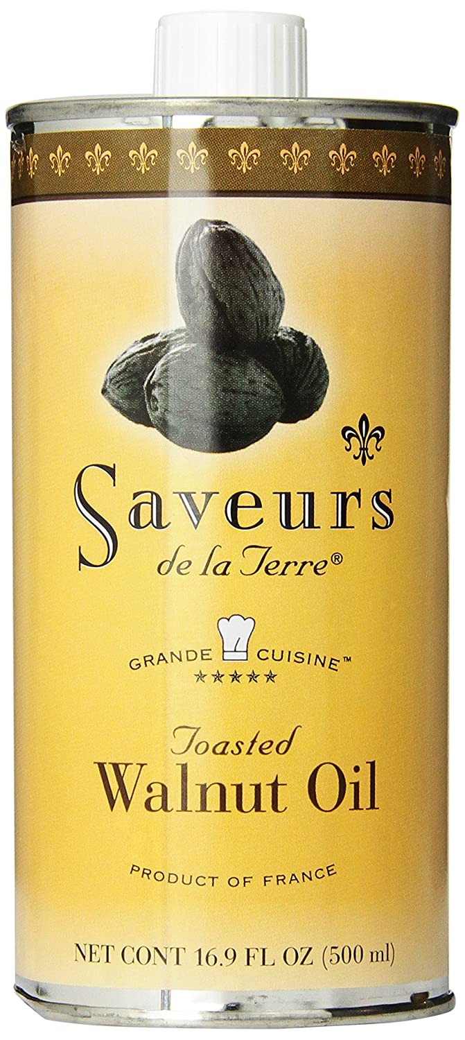 Saveurs de la Terre Walnut Oil New mail order OFFicial mail order 16.9-Ounce