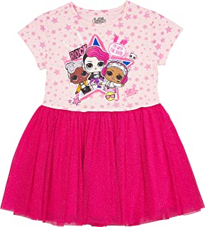 L.O.L. Surprise! Girls' Tutu Dress with Tulle Skirt