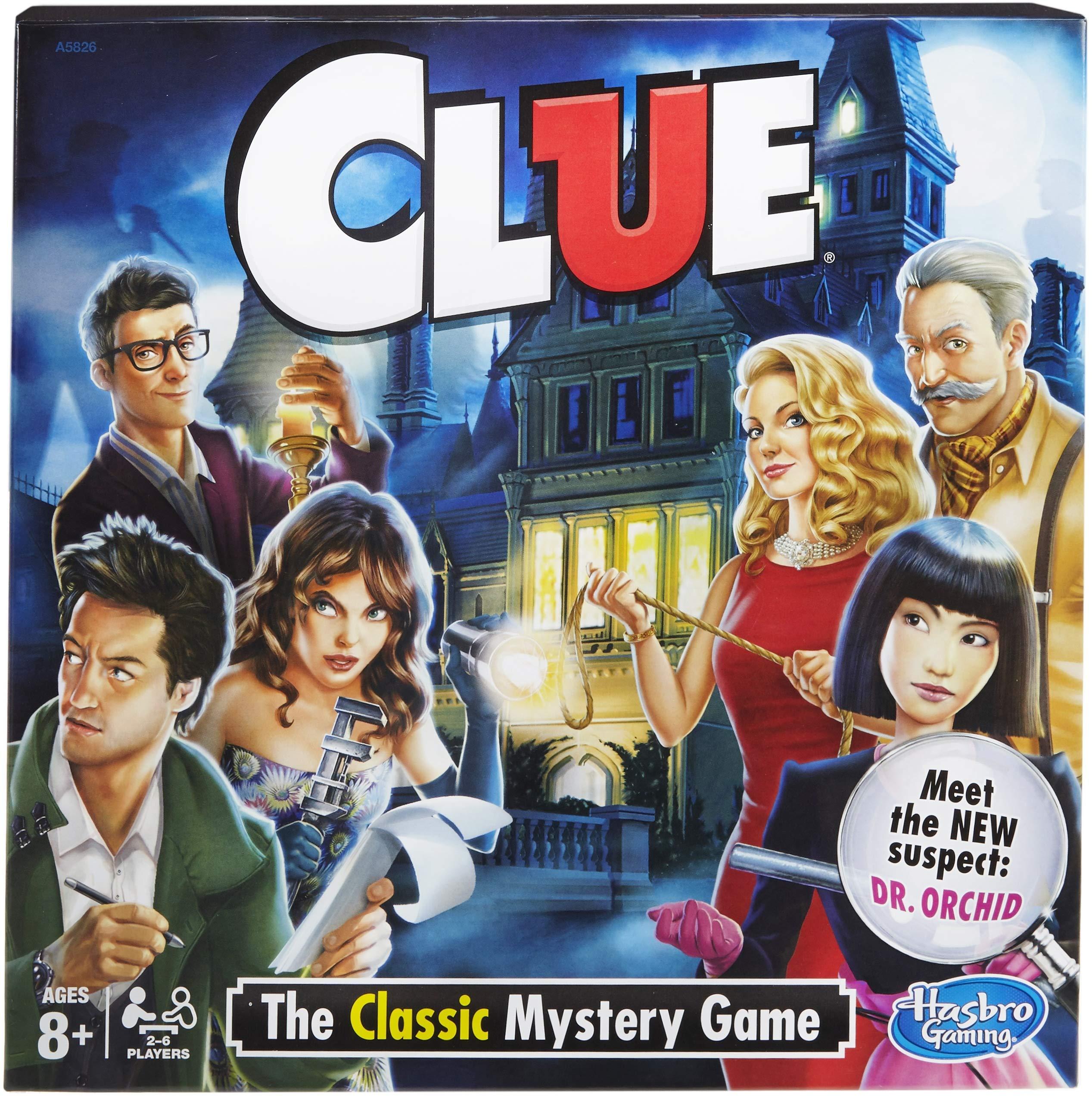Hasbro A5826079 Clue Game
