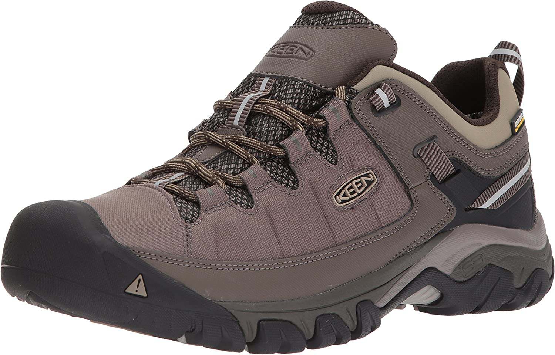 KEEN MEN's MEN's MEN's Targhee Exp Wp -m Hiking skor, Bungee Cord  Brindle, 10 M USA  nya exklusiva high-end