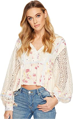 Free People - Boogie All Night Printed Blouse
