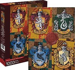 Aquarius Harry Potter Crests 1000 Piece Jigsaw Puzzle